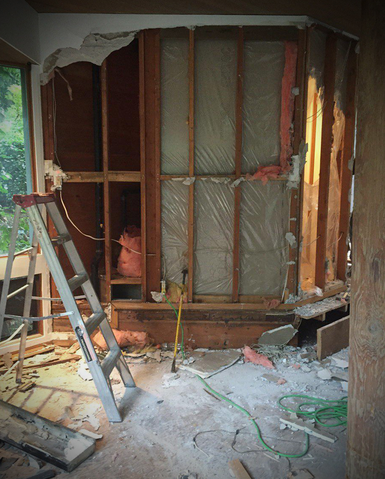 commercial drywall removal
