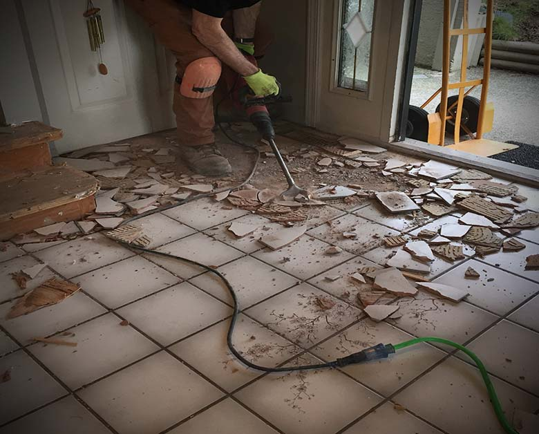 floor tile removal vancouver