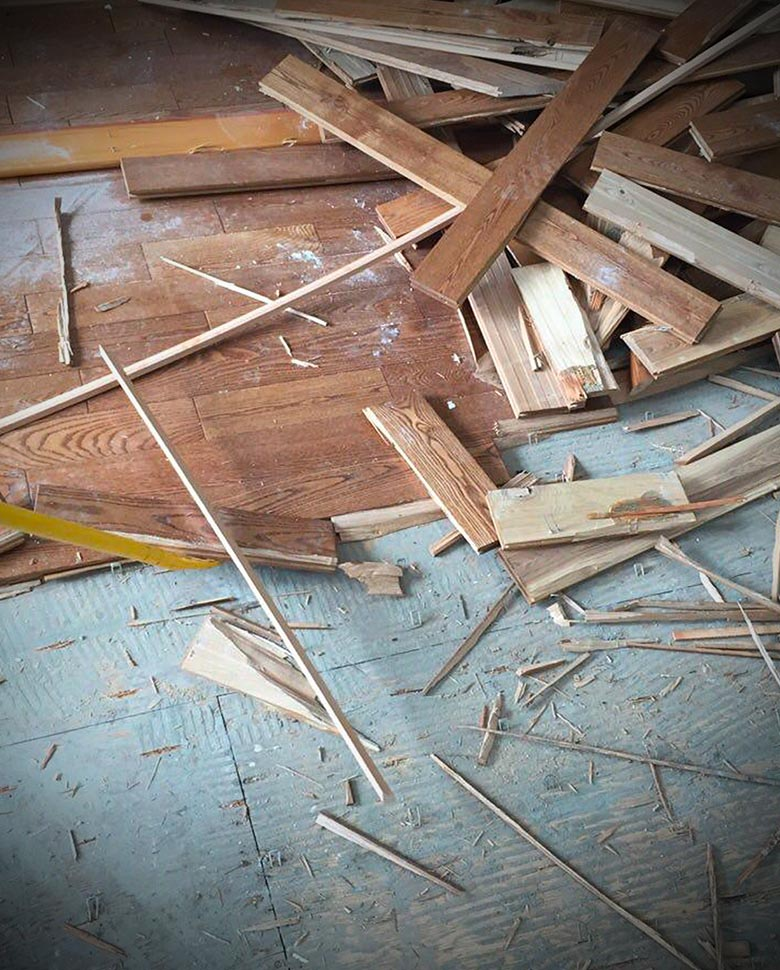 flooring removal Vancouver bc