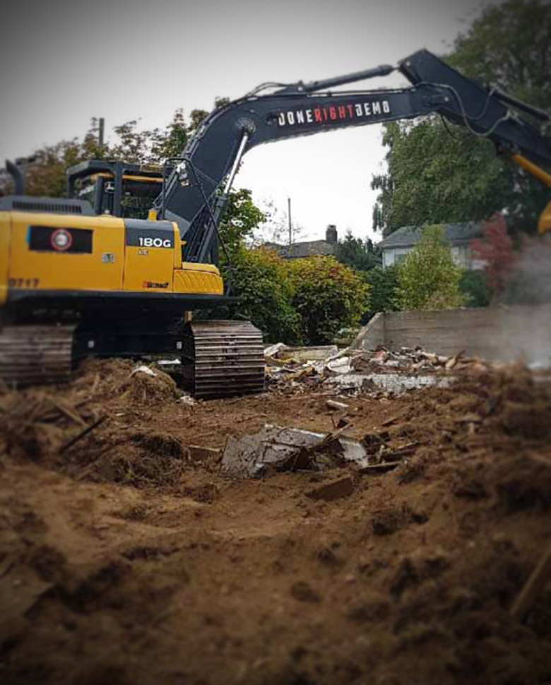 excavation contractors Vancouver BC