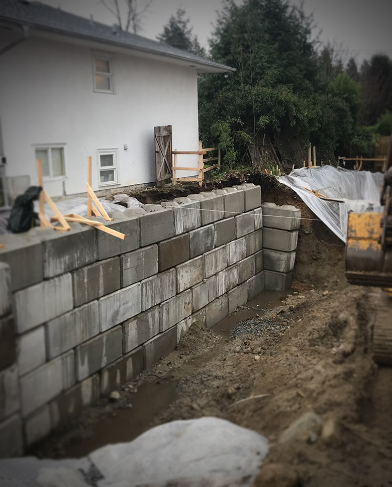 Shoring in Vancouver BC